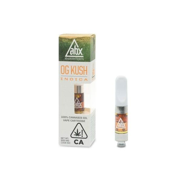 ABX OG Kush Vape Cartridge 500mg