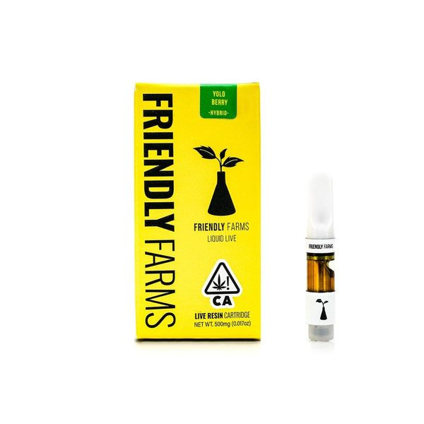Friendly Farms | Yolo Berry Liquid Live Cartridge